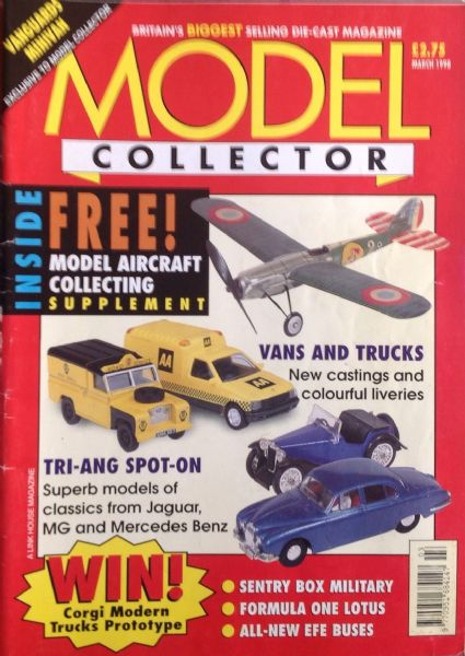 ORIGINAL MODEL COLLECTOR MAGAZINE March 1998
